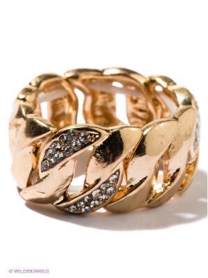 Кольцо Taya. Цвет: золотистый