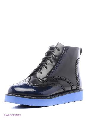 Ботинки Wilmar. Цвет: голубой