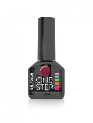 Однофазный гель-лак One Step №36, 6 мл GIORGIO CAPACHINI. Цвет: бордовый
