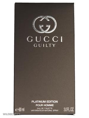Gucci GUILTY PLATINUM PH М Товар Туалетная вода 90 мл. Цвет: прозрачный
