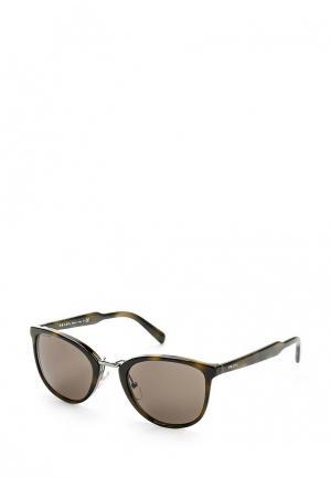 Очки солнцезащитные Prada. Цвет: хаки