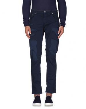 Джинсовые брюки DEPARTMENT 5. Цвет: темно-синий