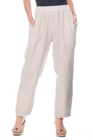Pants LAURA MORETTI. Цвет: beige