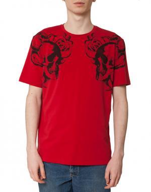 Футболка мужская Costume Nemutso. Цвет: красный
