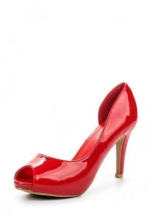 Туфли Style Shoes. Цвет: красный