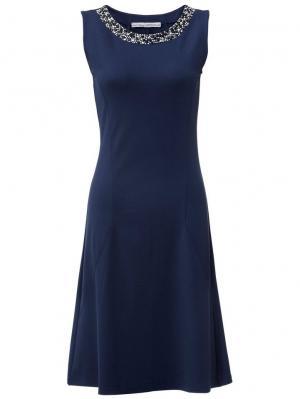 Платье Otto. Цвет: синий