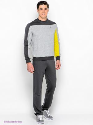 Спортивный костюм RED-N-ROCK'S. Цвет: серый, желтый