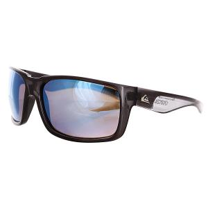 Очки  Chaser Crystal Smoke/Flash Quiksilver. Цвет: голубой