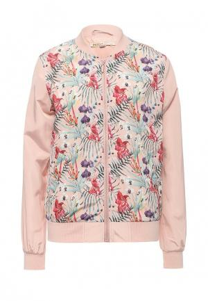 Куртка Modis. Цвет: розовый