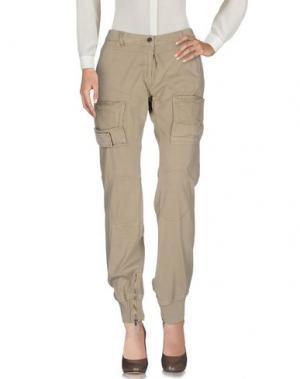 Повседневные брюки AERONAUTICA MILITARE. Цвет: песочный