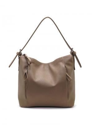 Сумка Solo true bags. Цвет: светло-коричневый