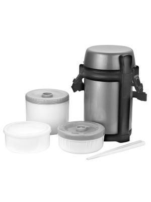 Термос-контейнер для пищи Calve. Цвет: серебристый
