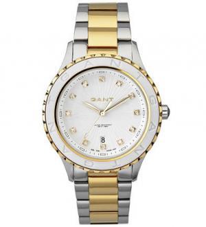 Часы с инкрустацией кристаллами Gant