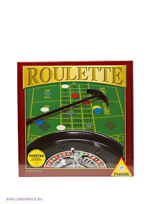 Игровой набор Рулетка Piatnik. Цвет: зеленый, черный