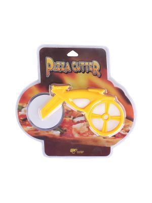 Нож для пиццы 21*22 см. PATRICIA. Цвет: желтый