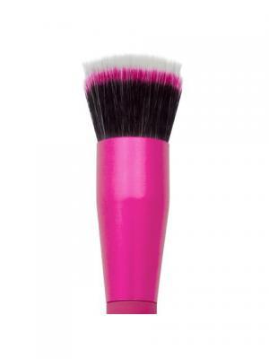 Royal&langnickel MODA STIPPLER. Кисть дуофибра для тональной основы. Цвет: розовый