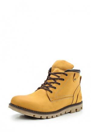 Ботинки Der Spur. Цвет: желтый