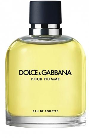 Туалетная вода Pour Homme Dolce & Gabbana. Цвет: бесцветный