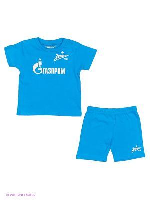 Спортивный костюм Atributika & Club. Цвет: синий