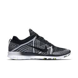 Женские кроссовки для тренинга  Free TR 5 Flyknit Nike. Цвет: черный