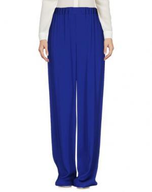Повседневные брюки GIANLUCA CAPANNOLO. Цвет: ярко-синий