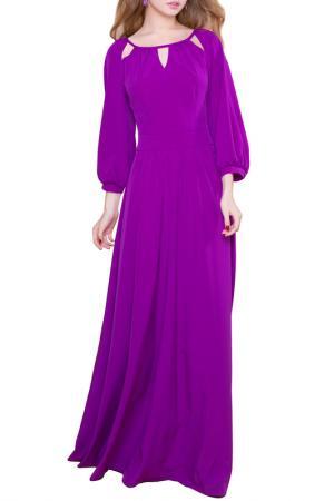 Платье MARICHUELL. Цвет: насыщенно-сиреневый