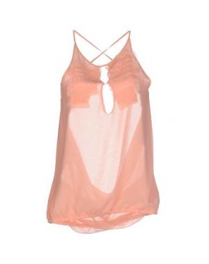 Топ без рукавов ANNARITA N.. Цвет: розовый