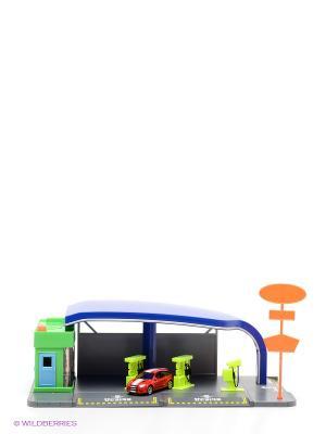 Автозаправочная станция Технопарк. Цвет: черный, красный