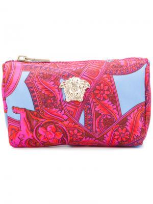 Косметичка Baroccoflage Versace. Цвет: розовый и фиолетовый
