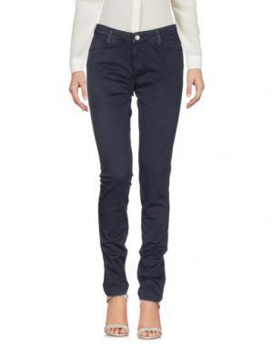 Повседневные брюки FRED PERRY. Цвет: темно-синий