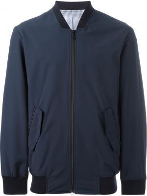 Куртка-бомбер E. Tautz. Цвет: синий