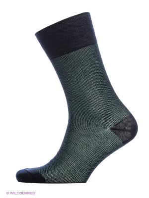 Носки ASKOMI. Цвет: зеленый