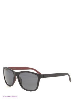 Солнцезащитные очки Polaroid. Цвет: черный, красный