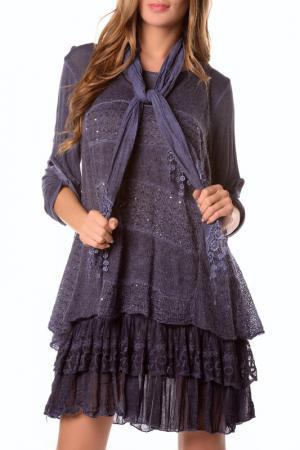 Платье LA BELLE PARISIENNE. Цвет: фиолетовый