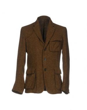Пиджак CINI. Цвет: коричневый