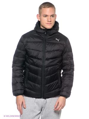 Пуховик Active Goose Down Jacket Puma. Цвет: черный