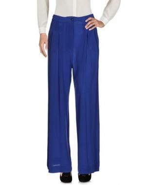 Повседневные брюки MASSIMO REBECCHI. Цвет: синий