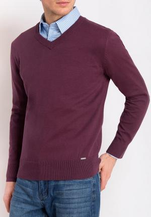Пуловер Finn Flare. Цвет: бордовый