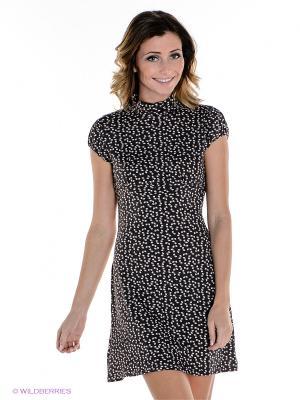Платье MELANY. Цвет: коричневый
