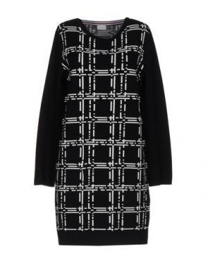 Короткое платье MARELLA SPORT. Цвет: черный