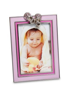 Фоторамка Маленькая принцесса 5*8 Bellezza casa. Цвет: розовый