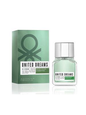 Туалетная вода Benetton UD BE STRONG 60 мл United Colors of. Цвет: прозрачный