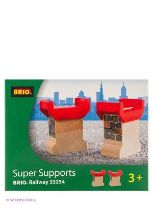 Опоры для постоения моста BRIO. Цвет: прозрачный