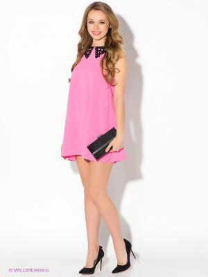 Платье AX Paris. Цвет: розовый