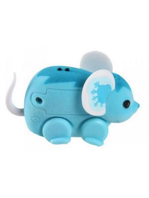 Интерактивная мышка Little Live Pets, голубая Moose. Цвет: голубой