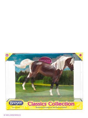 Лошадь мустанг серебристо-гнедой Breyer. Цвет: темно-коричневый