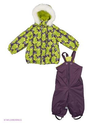 Комплект одежды Kerry. Цвет: темно-серый, светло-желтый, бронзовый