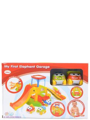 Моя первая парковка Toy Target. Цвет: оранжевый