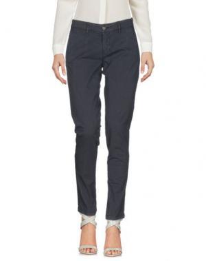 Повседневные брюки BLAUER. Цвет: стальной серый