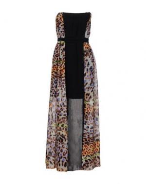 Платье длиной 3/4 MORGAN DE TOI. Цвет: бежевый
